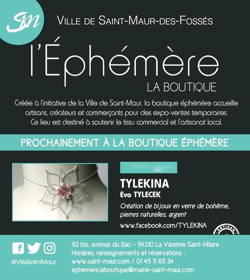 Boutique L'Éphémère La Varenne 10-16/02 2020