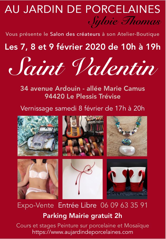 Expo Au Jardin de porcelaines 7-9/02/2020